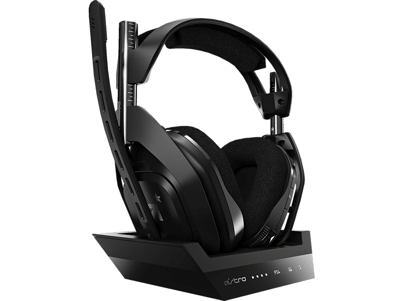 ASTRO GAMING A50 Wireless Base Station for PlayStation 4 PC Gaming Headset Schwarz