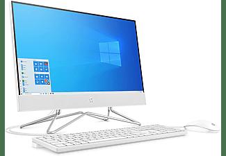 "All in one - HP 22-df0036ns, 21.5"" Full-HD, Intel® Celeron® J4025, 8 GB, 256 GB SSD, Windows 10 Home, Blanco"