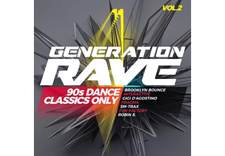 VARIOUS - Generation Rave Vol.2-90s Dance Classics Only  - (CD)