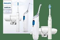 PHILIPS Elektrische Zahnbürste Diamond Clean HX8494 mit Airfloss White