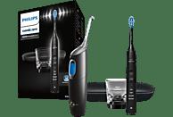 PHILIPS Elektrische Zahnbürste Diamond Clean HX8494 mit Airfloss Black