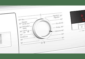 Lavadora carga frontal - Bosch WAJ20061ES, 7 kg, 1000 rpm, Blanco