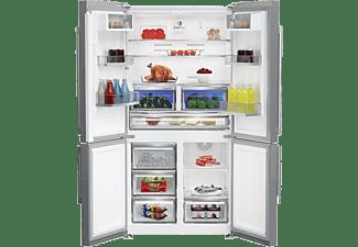 ELEKTRA BREGENZ Side-By-Side, 4-türiger Kühlschrank SBSQ 4467 X