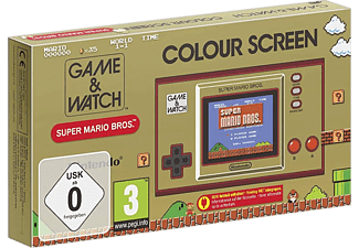 Game & Watch: Super Mario Bros. /D - Console de jeu - Or/Rouge/Noir