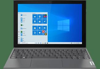 LENOVO IdeaPad Duet 3i, Convertible mit 10,3 Zoll Display, Celeron® Prozessor, 4 GB RAM, 64 GB eMMC, Intel UHD Grafik 600, Graphitgrau