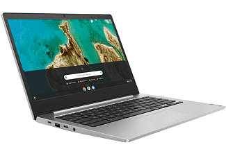 LENOVO IdeaPad 3, Chromebook mit 14 Zoll Display, Intel® Celeron® Prozessor, 4 GB RAM, 64 GB eMMC, Intel UHD Grafik 600, Platinsilber