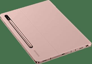 SAMSUNG EF-BT870 Tablethülle Bookcover für Samsung Polycarbonate und Polyurethane, Braun