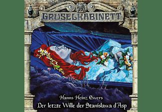 Gruselkabinett - Gruselkabinett (163): Der letzte Wille der Stanislawa d'Asp  - (CD)