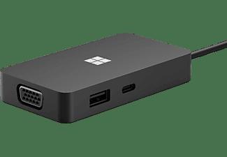 MICROSOFT USB-C Travel Hub, Schwarz