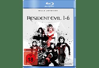 Resident Evil - 1-6 [Blu-ray]