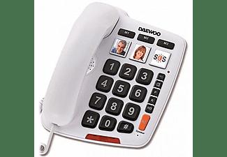 Teléfono - Daewoo DTC-760, Teclas grandes, Manos libres,
