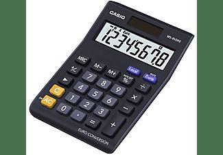 Calculadora - Casio MS 80 VERII, conversión de moneda y pantalla LC extra grande, azul