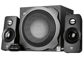 Sistema de altavoces - Woxter Big Bass 260 S, Sistema 2.1, 150 W, Plateado
