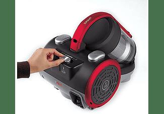 Aspirador sin bolsa - Polti Forzaspira C110 Plus, 800 W, 2l, Apto parquet, HEPA, Ciclónico, Negro