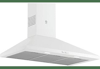 Campana - Balay 3BC696MB, Decorativa, Integrable, Diseño piramidal, 600 m³/h, 3 potencias, 90 cm, A, Blanco