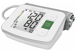 Tensiómetro - Medisana BU 512, Brazo superior, Fácil lectura, Blanco