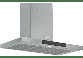 Campana - Bosch DWB98JQ50 Serie 6, Decorativa, 843 m³/h, 165 W, Iluminación LED, 90 cm, A+, Inox