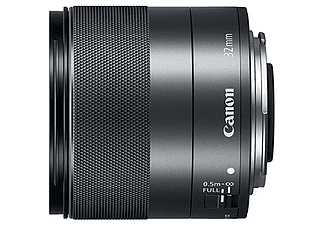 Objetivo - Canon,  2439C005 EF-M 32mm, 56.55 mm, F/1.4 STM BK, Negro