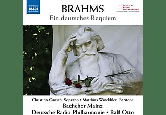 Ralf/bachchor Mainz/deutsche Radio Philharmon Otto - EIN DEUTSCHES REQUIEM, OP. 45  - (CD)