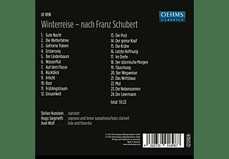 Wolf,Axel/Siegmeth,Hugo/Hunstein,Stefan - Winterreise - nach Franz Schubert  - (CD)
