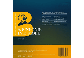 Rudolf Lutz / J.S. Bach-Stiftung - 9TH SYMPHONY IN D MINOR, OPUS 125  - (CD)