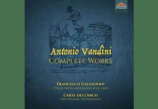 Francesco/l'arte Dell 'arco Galligioni - COMPLETE WORKS  - (CD)