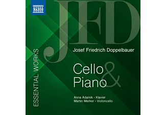 Merker,Martin/Adamik,Anna - ESSENTIAL WORKS FOR CELLO AND PIANO  - (CD)
