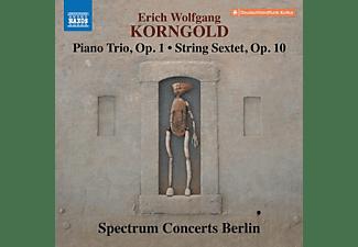 Spectrum Concerts Berlin - PIANO TRIO, OP. 1 - STRING SEXTET, OP. 10  - (CD)