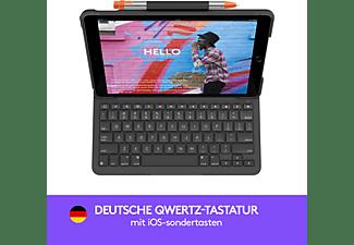 LOGITECH Slim Folio für iPad (7. Generation) Tastatur-Case Grafit