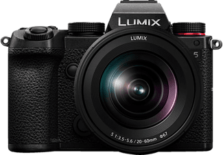PANASONIC Systemkamera Lumix DC-S5 Systemkamera mit Objektiv S 20-60mm 3.5-5.6 (DC-S5KE-K)