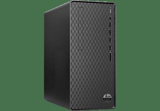 PC Sobremesa - HP M01-F1000ns, Intel® Core™ i3-10100, 8GB, 512GB SSD, UHD Graphics, FreeDOS, Negro