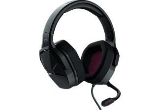 TRUST GXT 4371, Over-ear Gaming Headset Schwarz