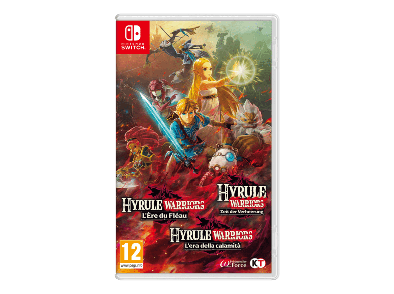 Acheter Nintendo Switch Hyrule Warriors L Ere Du Fleau Multilingue Mediamarkt