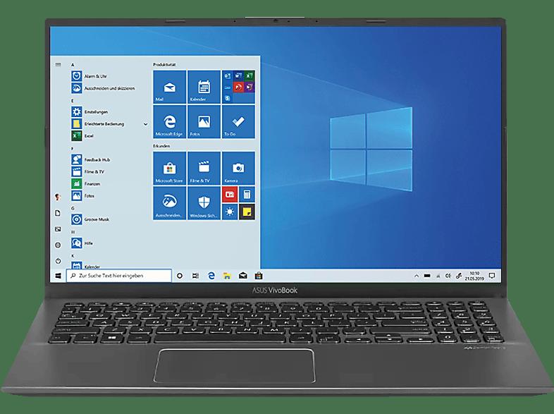 ASUS VivoBook S15 S512JA-EJ745T, Notebook mit 15.6 Zoll Display, Core i3 Prozessor, 8 GB RAM, 512 GB SSD, 32 GB SSD, Intel® UHD Grafik, Slate Grey