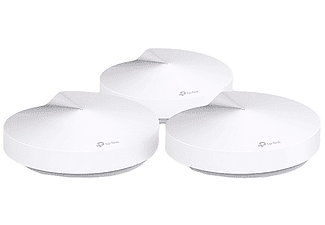 Pack Sistema Wi-Fi - TP Link Deco M5, 400+867Mbps, 3 sistemas, Blanco