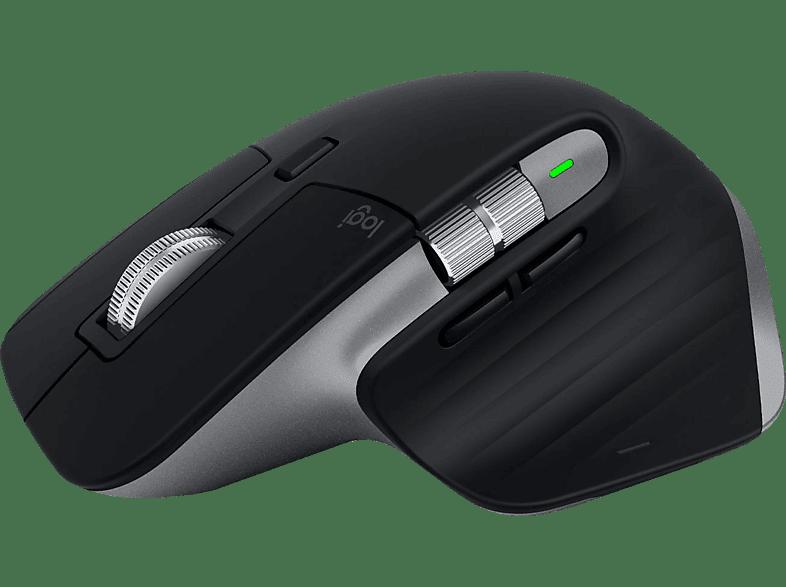 LOGITECH MX MASTER 3 für Mac Kabellose Maus, Space Grau