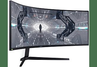 "Monitor gaming - Samsung Odyssey G9 G95T, 49"" 5K DQHD, 1 ms, 240 Hz, Curvo, DisplayPort 1.4, HDMI, USB"