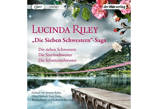 Riley Lucinda - Die Sieben Schwestern-Saga (1-3)  - (MP3-CD)
