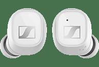 SENNHEISER CX 400BT, Passives Noise Cancellation, In-ear True Wireless Kopfhörer Bluetooth Weiß
