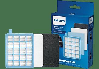 PHILIPS Ersatzfilterset FC8058/01 Powerpro Compact/Active StartKit