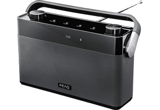 PEAQ PDR 180 BT-B-1 DAB+ Radio, analog + digital, DAB+, FM, Bluetooth, Schwarz/Grau