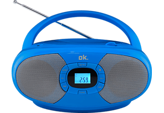 OK. ORC 131-BL STEREO CD Player, Blau