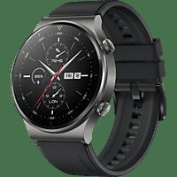 HUAWEI WATCH GT 2 Pro Sport Smartwatch Kunststoff, 140-210 mm, Schwarz