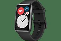 HUAWEI WATCH Fit Graphite Black Smartwatch Silikon, 80-120 mm, Schwarz