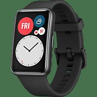 HUAWEI WATCH Fit Graphite Black Smartwatch Silikon, 130-210 mm, Schwarz