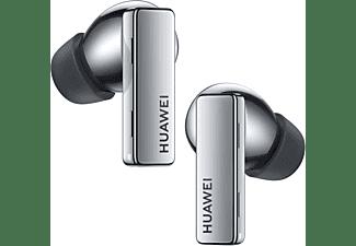 HUAWEI FreeBuds Pro, In-ear True Wireless Kopfhörer Bluetooth Silver Frost