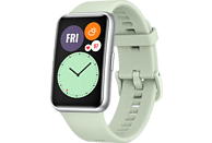 HUAWEI WATCH Fit Mint Green Smartwatch Silikon, 80-120 mm, Grün