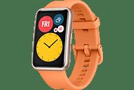 HUAWEI WATCH Fit Cantaloupe Orange Smartwatch Silikon, 80-120 mm, Orange