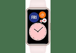 HUAWEI WATCH Fit Sakura Pink Smartwatch Silikon, 80-120 mm, Pink