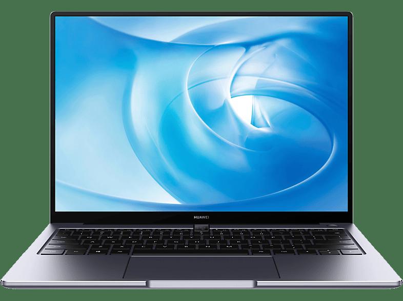 HUAWEI MateBook 14, Notebook mit 14 Zoll Display, Core™ i5 Prozessor, 8 GB RAM, 512 SSD, GeForce MX350, Space Gray